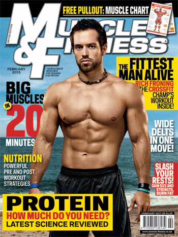 Muscle & Fitness. February 2013