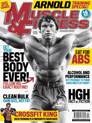 Muscle & Fitness. April 2013